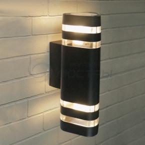 фото Настенный уличный светильник Techno 1483 черный