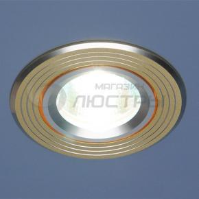 фото Точечный светильник 5207 S/G сатин/золото