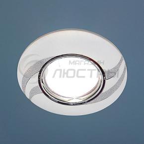 фото Точечный светильник 8012A PS/N (перламутр. серебро / никель)
