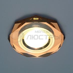 фото Точечный светильник 8020/2 BROWN GD (коричневый/золото)