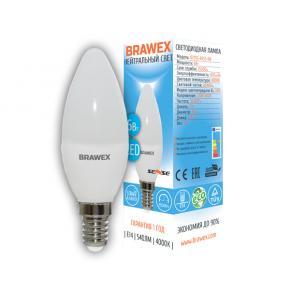 фото Светодиодная лампа Е14 свеча 6W 0707G-B35S-6N