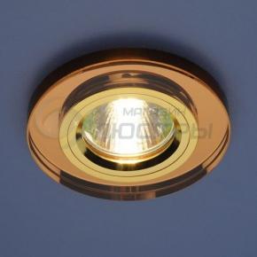 фото Точечный светильник 8060 BROWN/GD (коричневый/золото)