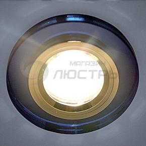 фото Точечный светильник 8060/6 BL/CH (голубой блеск/хром)