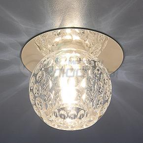 фото Точечный светильник 8102 CH/Clear (хром/прозрачный)