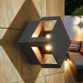 фото Настенный светильник 1606 Techno LED Tellus графит