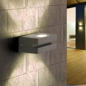 фото Настенный светильник 1611 Techno LED Nerey алмазный серый