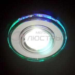 фото Точечный светильник 2030/2 CH/MULTI/LED (хром / мульти)