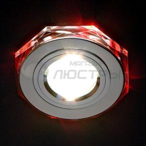 фото Точечный светильник 2020/2 SL/LED/RD (хром/красный)