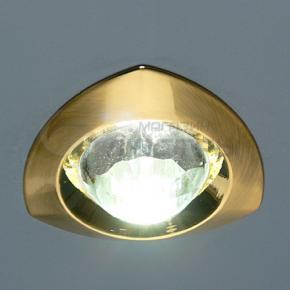 фото Точечный светильник 122A SG/WH (сатин золото/прозрачный)