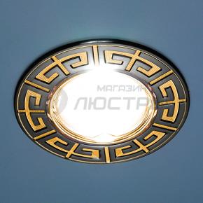 фото Точечный светильник 120090 GU/G (черный / золото)