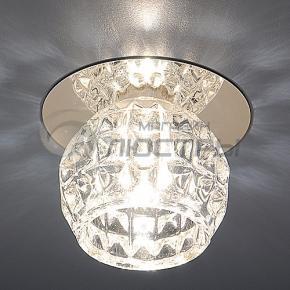 фото Точечный светильник 8104 CH/Clear (хром/прозрачный)