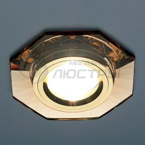 фото Точечный светильник 8120 BR/GD (коричневый/золотой)