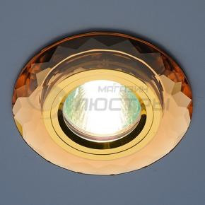 фото Точечный светильник 8150 BROWN/GD (коричневый/золото)