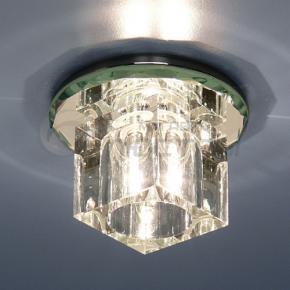 фото Точечный светильник SD8163 WH+WH (хром/прозрачный)
