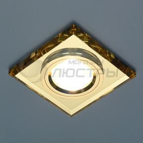 фото Точечный светильник 8170/2 YL/GD (зерк. золото)