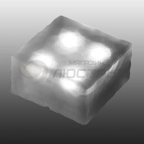фото Светильник садовый светодиодный на солнечных батареях Novotech Tile 357249