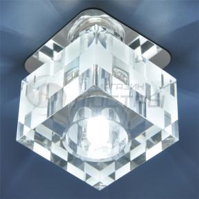 фото Точечный светильник 8243 G9  CH/WH (хром/белый)