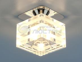 фото Точечный светильник 8250 CH/WH (хром/белый)