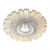 фото Встраиваемый светильник Novotech PATTERN Белый/Золото 370325