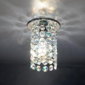 фото Точечный светильник 208 CH/Colorful (хром/перламутровый)