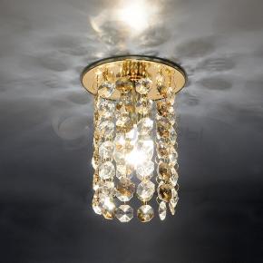 фото Точечный светильник 208 GD/GC/Clear (золото/тонированный/прозрачный)