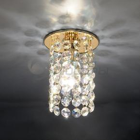 фото Точечный светильник 208 GD/Colorful (золото/перламутровый)