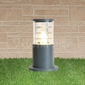 фото Ландшафтный светильник 1508 TECHNO silver серый